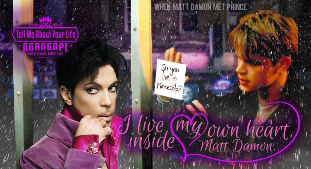 Matt Damon Meets Prince lrg